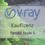V-Ray 5 RenderNode Kauflizenz