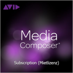 Avid Mediacomposer Subscription