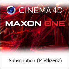Maxon One 1 Jahr Subscription