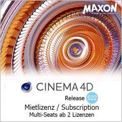 Cinema 4D S22 Mietlizenz ab 2 Seats / Subscription