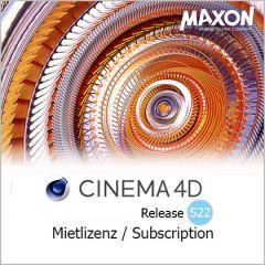 Cinema 4D Mietlizenz / Subscription