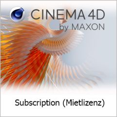 Cinema 4D 1 Jahr Subscription