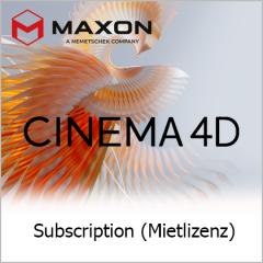 Cinema 4D 1 Jahr Subscription