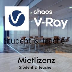 V-Ray Student&Teacher Mietlizenz