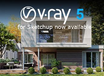 Chaos Group hat V-Ray 5 für SketchUp released