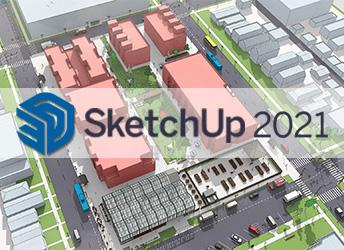 Trimble hat die neue Version von SketchUp 2021 released