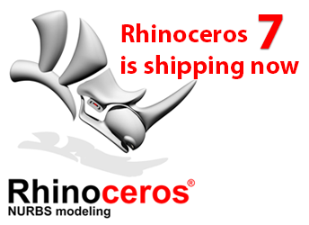 McNeel Rhinoceros 7 verfügbar