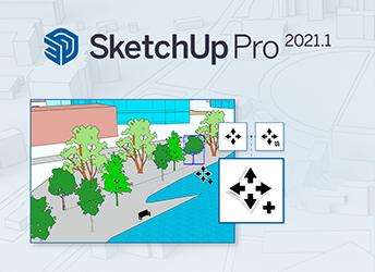 SketchUp Pro Update Release 2021.1