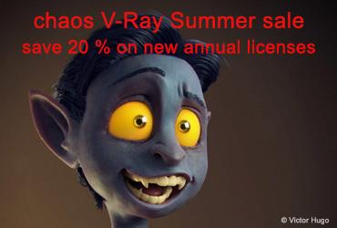 Summer Sale Chaos V-Ray Render-PlugIns