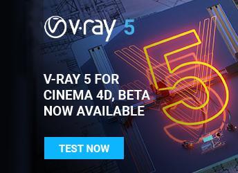 V-Ray 5 für Cinema 4D: Betaphase eröffnet